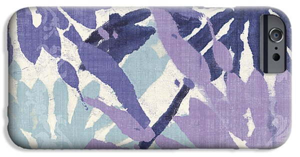 Woven iPhone Cases - Blue Curry II iPhone Case by Mindy Sommers