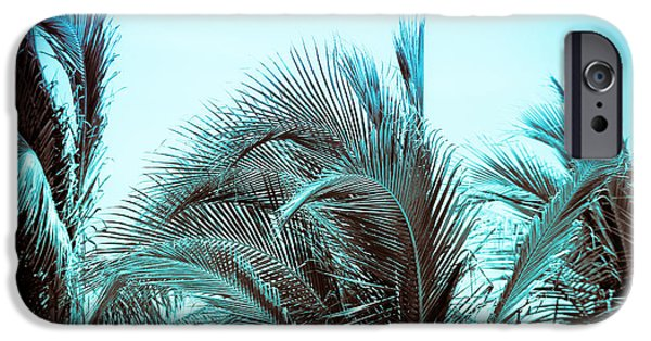 Nature Abstract iPhone Cases - Blue Hawaii iPhone Case by Colleen Kammerer