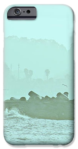 Blue Mist 3 iPhone Case by Marilyn Hunt