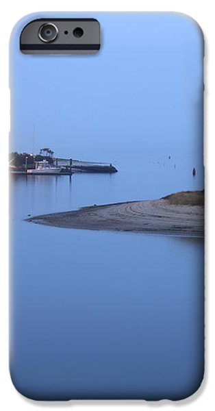 Blue Morning iPhone Case by Roupen  Baker