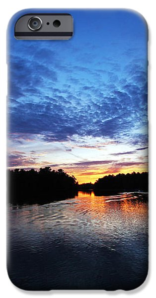 Blue sunset iPhone Case by Ty Helbach
