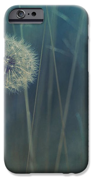 blue tinted iPhone Case by Priska Wettstein