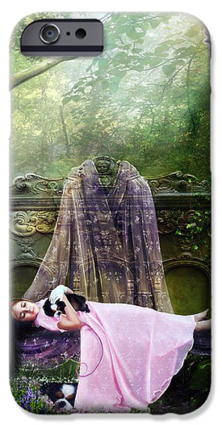 Bluebell Dreams iPhone Case by Karen K