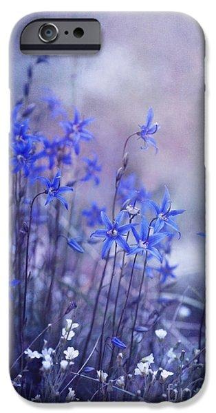 bluebell heaven iPhone Case by Priska Wettstein
