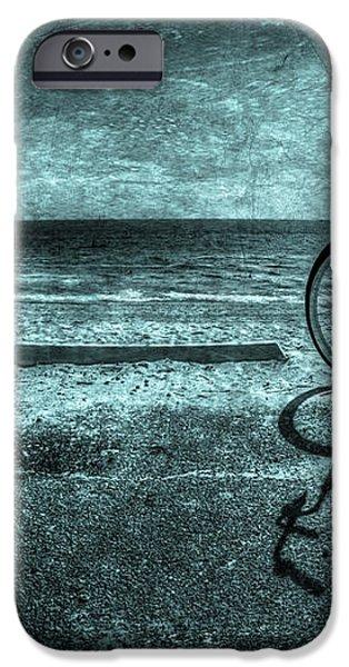 Bluescape iPhone Case by Evelina Kremsdorf