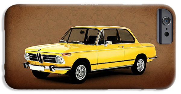 Bmw iPhone Cases - Bmw 2002 iPhone Case by Mark Rogan