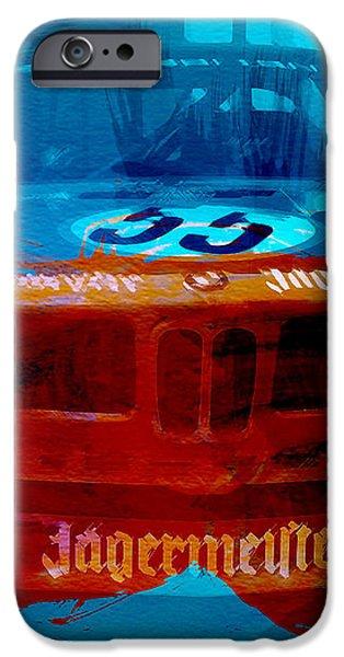 BMW JAGERMEISTER iPhone Case by Naxart Studio