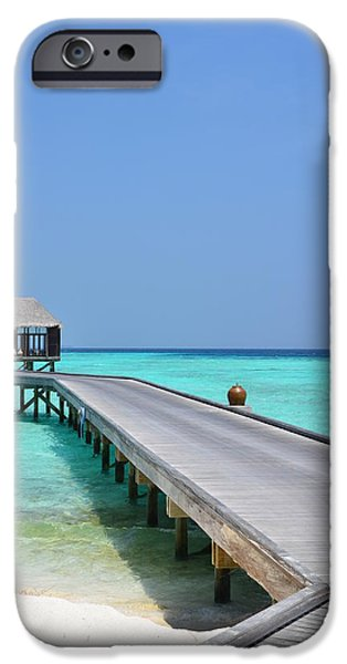 Recently Sold -  - Nation iPhone Cases - Boardwalk in Paradise iPhone Case by Corinne Rhode