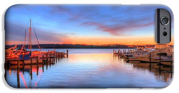 Alexandria iPhone Cases - Boat Drinks iPhone Case by JC Findley
