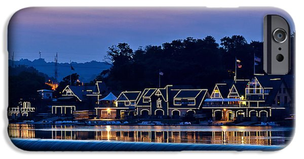Historic Site iPhone Cases - Boat House Row iPhone Case by John Greim
