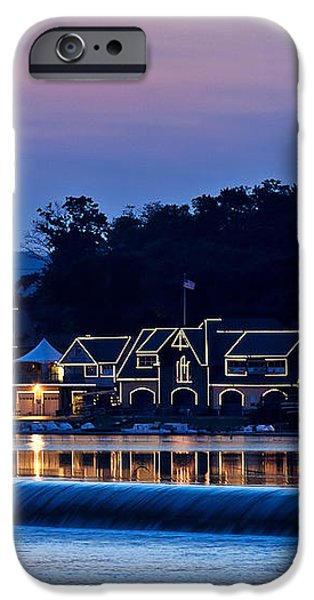 Boat House Row iPhone Case by John Greim