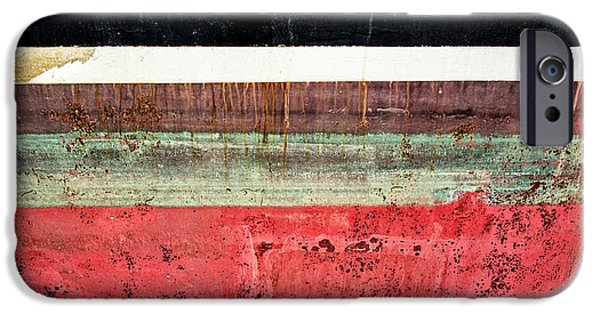 Technical iPhone Cases - Boat Hull iPhone Case by Delphimages Photo Creations