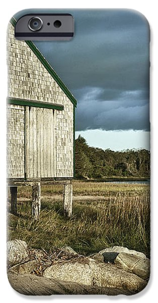 Boathouse iPhone Case by John Greim