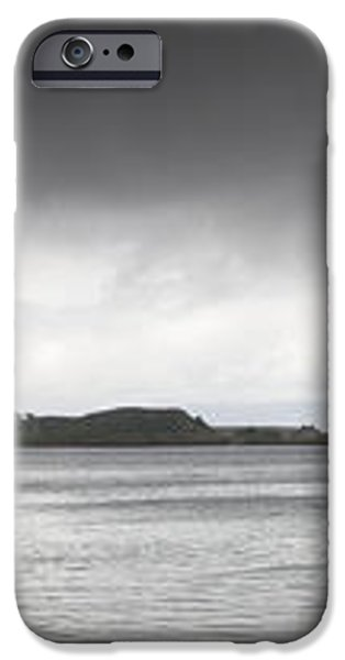 Boats Moored In The Harbor Oban iPhone Case by John Short