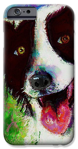 Bob iPhone Case by Arline Wagner