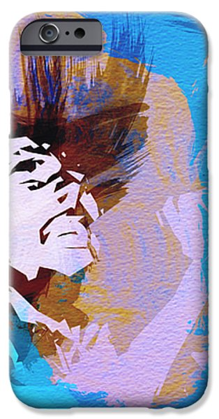 Bob Marley 3 iPhone Case by Naxart Studio
