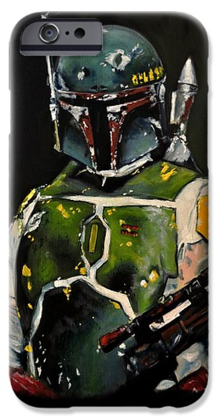 Epic iPhone Cases - Boba Fett Beginning iPhone Case by Ruben Barbosa