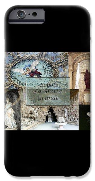 Boboli La Grotta Grande 2 iPhone Case by Ellen Henneke