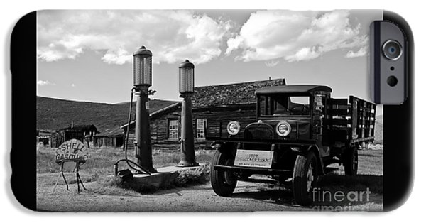 Old Cars iPhone Cases - Bodie California  iPhone Case by Nick  Boren