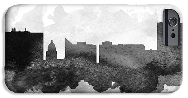 iPhone Cases - Boise Cityscape 11 iPhone Case by Aged Pixel