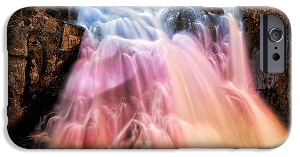 Epic iPhone Cases - Bokeh Fantasy Falls iPhone Case by Nicolas Raymond