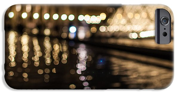 Historic Site iPhone Cases - Bokeh Louvre iPhone Case by Marcus Karlsson Sall