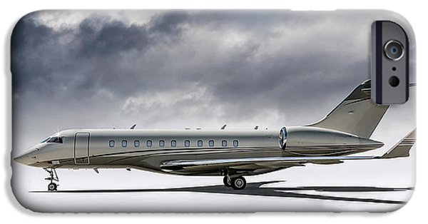 Private iPhone Cases - Bombardier Global 5000 iPhone Case by Douglas Pittman