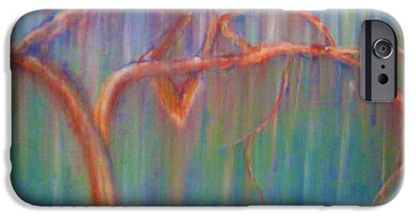 Organic Pastels iPhone Cases - Bonaventure Tree iPhone Case by Dorneisha Batson