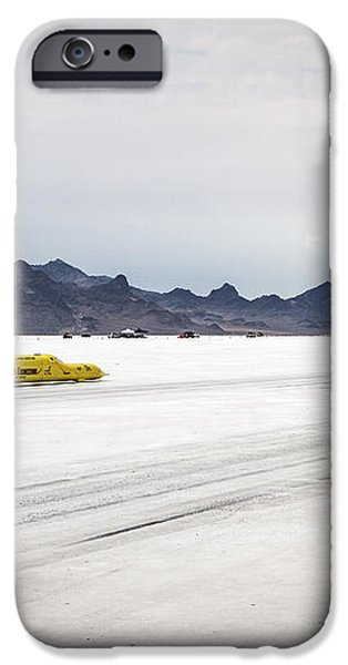 Bonneville Speed Week 2012 iPhone Case by Holly Martin