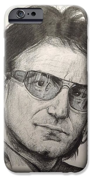 Miracle Pastels iPhone Cases - Bono iPhone Case by Francesca Agostini