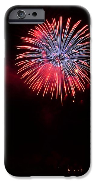 4th July Photographs iPhone Cases - Boom iPhone Case by Jesse Grabowski