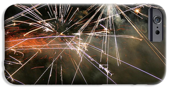 Fourth Of July iPhone Cases - Boom iPhone Case by Kristin Elmquist