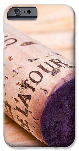 Bordeaux Wine iPhone Case by Frank Tschakert