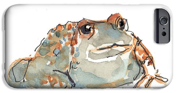 Kathleen iPhone Cases - Boreal Chorus Frog iPhone Case by Kathleen McElwaine
