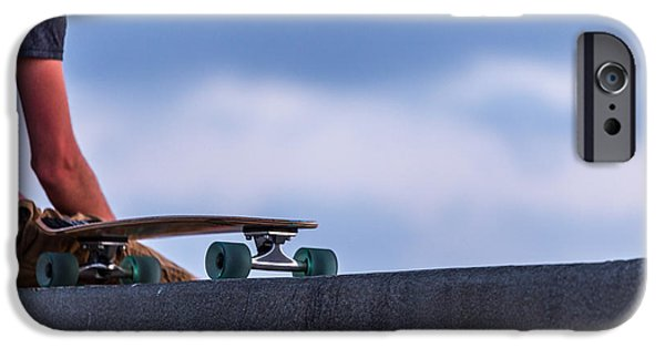 Skateboard iPhone Cases - Bored Board iPhone Case by Peter Tellone
