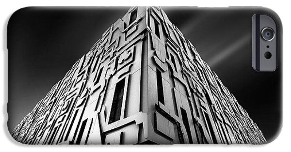 Business Photographs iPhone Cases - Borg iPhone Case by Ivan Vukelic