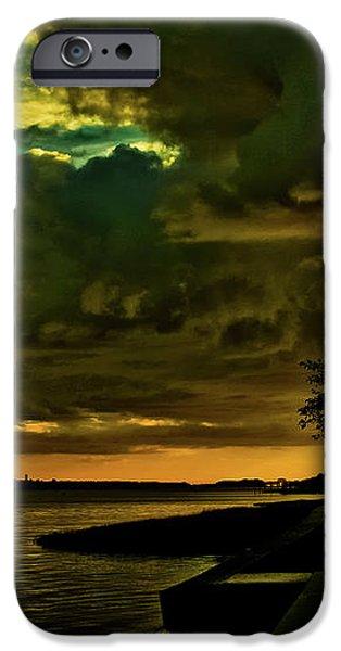 Boston Bay Sunrise iPhone Case by Albert Seger