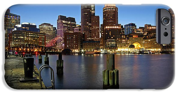Business Photographs iPhone Cases - Boston Calling iPhone Case by Juergen Roth
