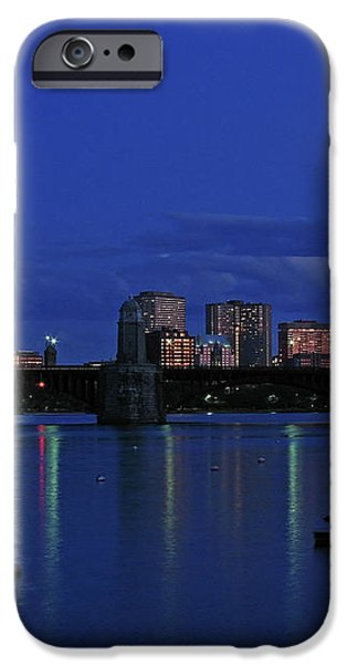 Boston City Lights iPhone Case by Juergen Roth