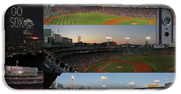 Fenway Park iPhone Cases - Boston Fenway Park and Red Sox Gift Ideas iPhone Case by Juergen Roth