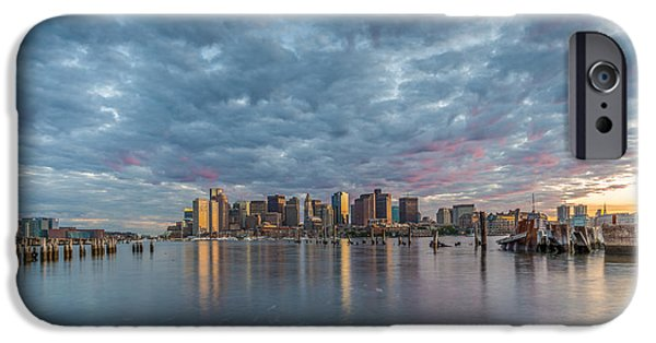 Recently Sold -  - House iPhone Cases - Boston from Carletons Whahrf iPhone Case by Bryan Xavier