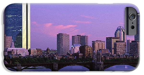 Boston Ma iPhone Cases - Boston Ma iPhone Case by Panoramic Images