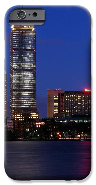 City. Boston iPhone Cases - Boston Prudential Center iPhone Case by Juergen Roth