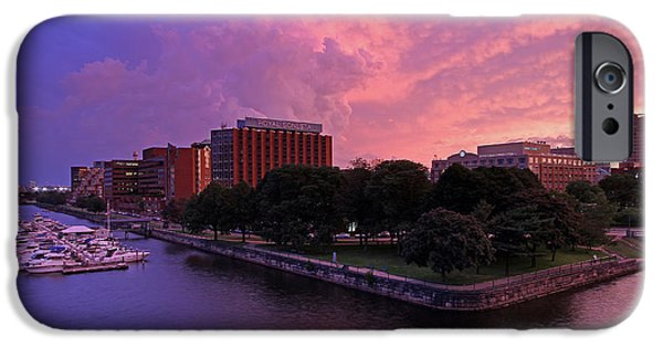 Charles River iPhone Cases - Boston Royal Sonesta iPhone Case by Juergen Roth