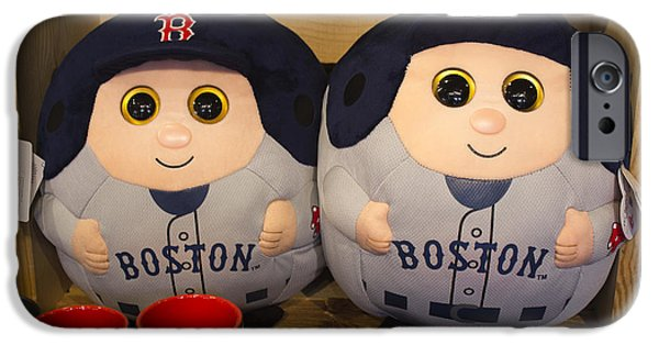 Red Sox iPhone Cases - Boston Baseball - Boston Series 12 iPhone Case by Carlos Diaz