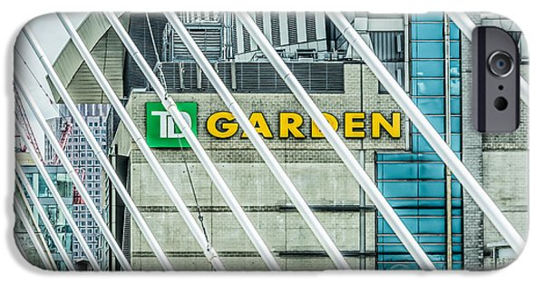 Boston Ma iPhone Cases - Boston TD Garden iPhone Case by Black Brook Photography
