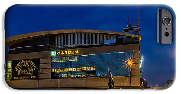 Boston Ma iPhone Cases - Boston TD Garden iPhone Case by Larry  Richardson