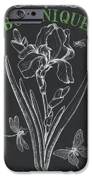 Flight iPhone Cases - Botanique 1 iPhone Case by Debbie DeWitt