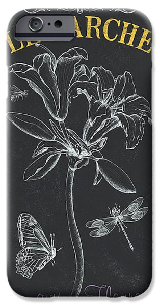 Flight iPhone Cases - Botanique 3 iPhone Case by Debbie DeWitt