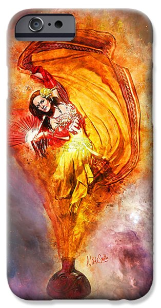 Gypsy Digital iPhone Cases - Bottled Wishes iPhone Case by Nikki Marie Smith